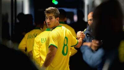 El mediocampista del Real Madrid fue convocado a la Sub-23 de Brasil.