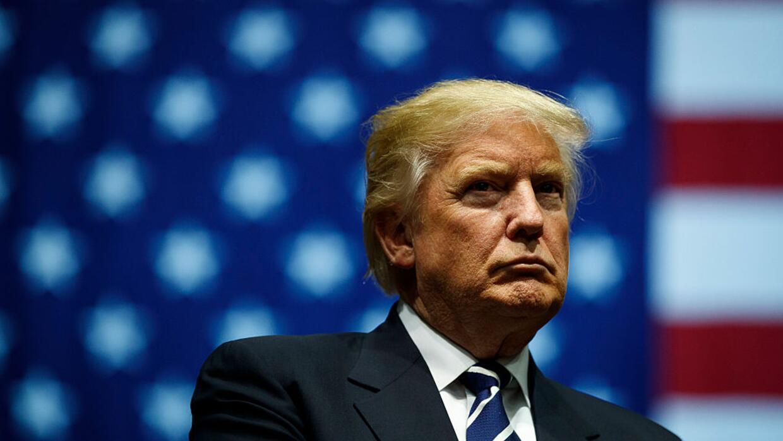 La tasa de desaprobación del presidente Donald Trump es del 59 por ciento.