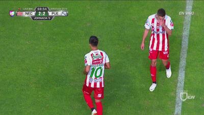 ¡Gol electrizante de Villalpando para empatar el partido!
