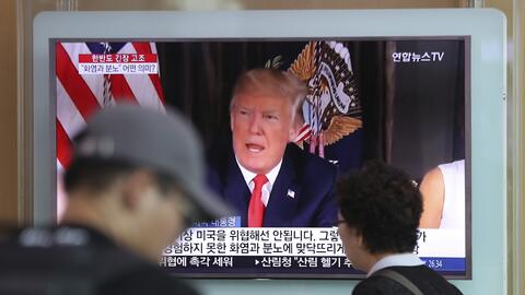 La escalada retórica entre Washington y Pyongyang repercute en Gu...