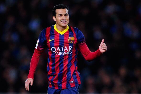 Pedro (6): Entró al césped por Neymar a los 68 minutos. 'Tata' Martino l...