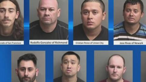 'Área de la Bahía en un Minuto': nueve hombres fueron detenidos tras un...