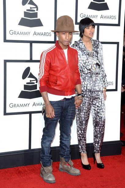 Ell sombrero que portó Pharrell fue hasta 'trendy topic'.