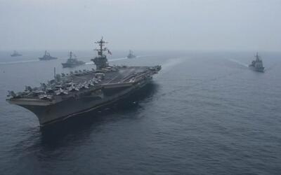 EEUU y Japón hacen ejercicios navales conjuntos ante la amenaza de Corea...