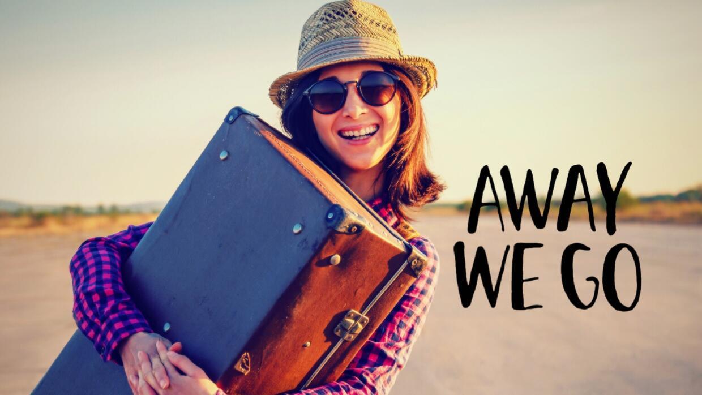 La felicidad de viajar sola.