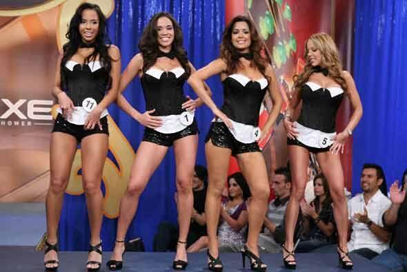 Cada una de las chicas nos mostraba los cuerpazos que las llevaron hasta...