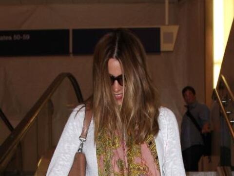 Encontramos a Sofía a su llegada al aeropuerto de Los Ánge...