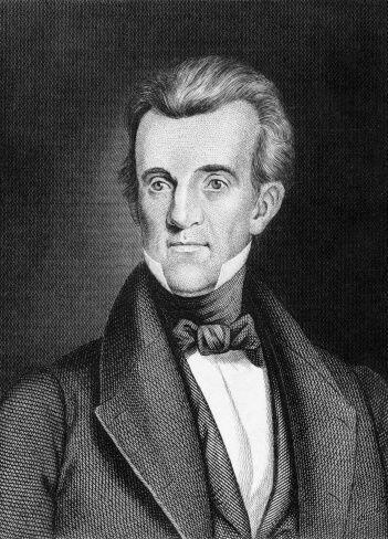 #11 -James K. Polk. Mandato desde 4 de marzo de 1845 hasta 4 de marzo de...