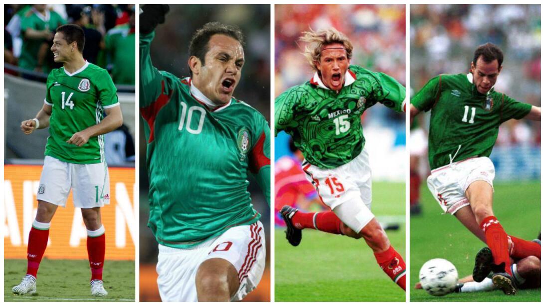 'Chicharito' ya es el capo de capos del Top 10 de máximos goleadores de...