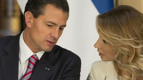 Enrique Peña Nieto y Angélica Rivera.