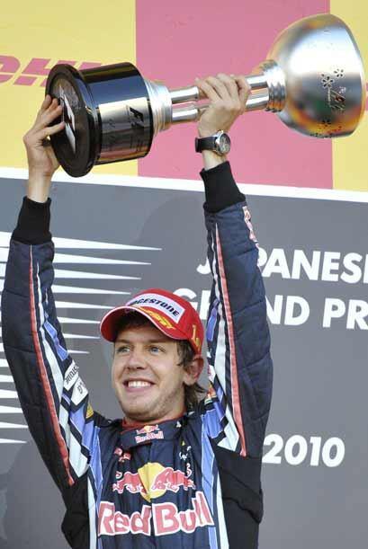 Vettel se llevó la victoria en Suzuka por segundo año consecutivo.