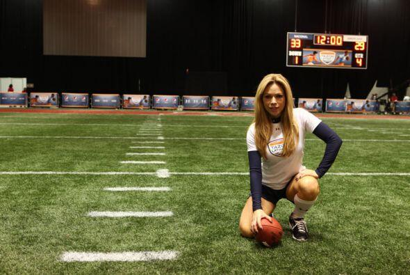 La entrenadora de Despierta América mostrará sus habilidades para jugar...