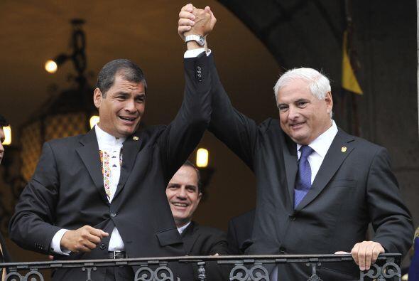 El presidente de Ecuador, Rafael Correa, sumó su sexto triunfo el...