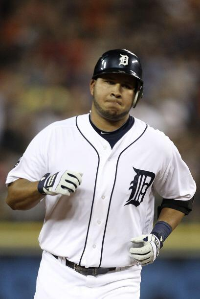 SS. Jhonny Peralta. Tigres de Detroit.El dominicano pegó tres extra bas...