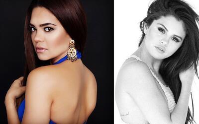 ¿Selena Gomez? ¡No, es Alina Robert!