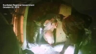 Publican video de rescate de rehenes kurdos secuestrados por ISIS