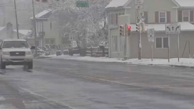 Autoridades de Camden llaman a residentes a tomar precauciones por tormenta invernal