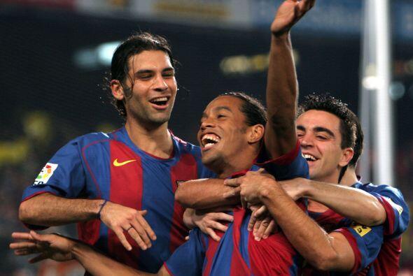 Le tocó compartir vestuarios con jugadores como Ronaldinho.