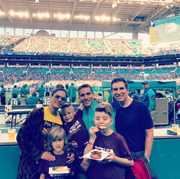 Galilea Montijo, Fernando Reyna y sus hijos