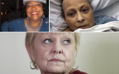 Jackie Fox, Eva Echevarría y Deborah Giannecchini, tres de las mu...