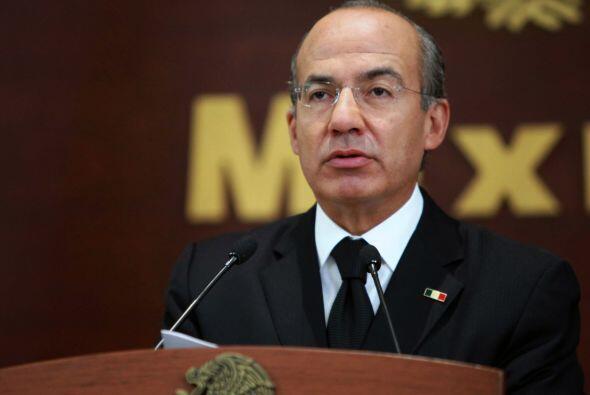 México: Para sus traslados por tierra, el presidente Felipe Calderón tie...