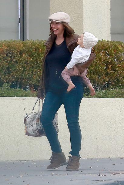 Jennifer apenas se acostumbraba a su vida de mamá y ya va por el segundo...