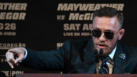 """""""Floyd Mayweather debe tenerle miedo a los mexicanos"""": McGregor y la pol..."""