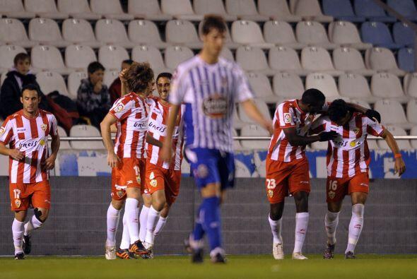 Jugando en Riazor, el 'Depor' no esperaba el gol de Miguel Angel Corona.
