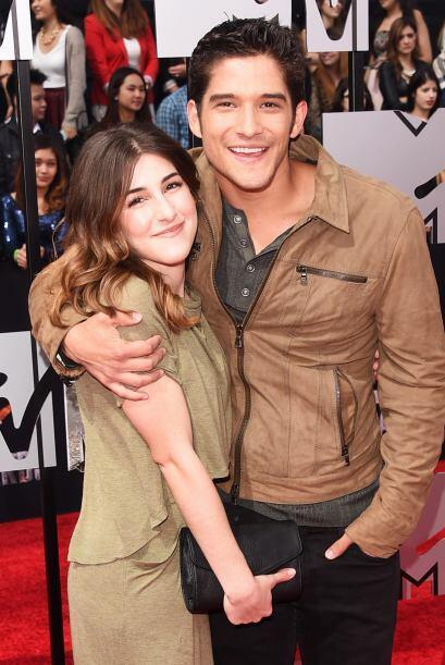 """La estrella de """"Teen Wolf"""", Tyler Posey, junto a Seana Gorlick. Mira aqu..."""