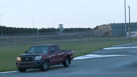 Imagen de la prisión de máxima seguridad en Carolina del S...