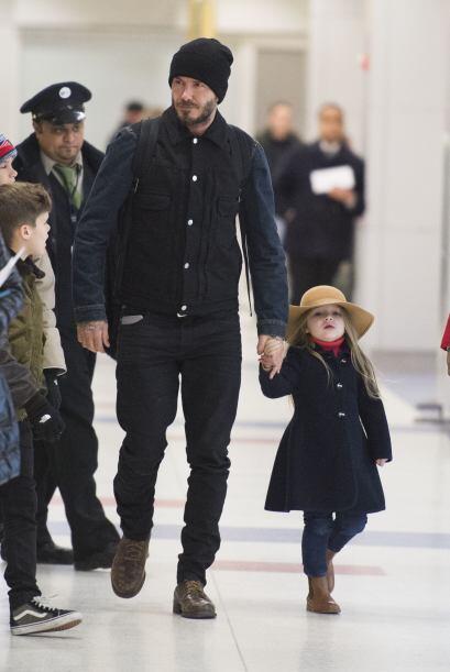 """Harper es la """"princesita"""" de la casa."""