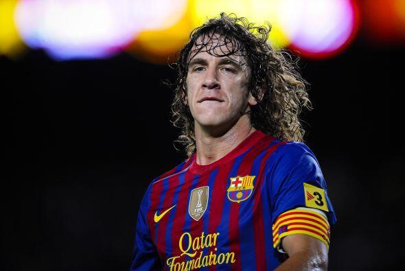 Carles Puyol, capitán del Barcelona que en este tramo de su carrera ha s...