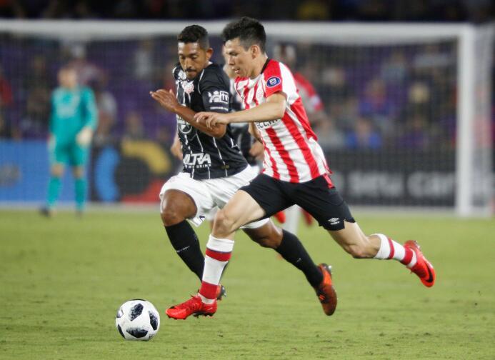 Fluminense 1-[1] PSV: después de ser titular ante el Corinthians, Hirvin...