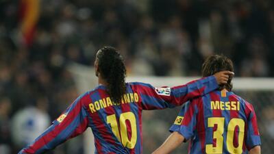 Messi debutó con la camiseta 30