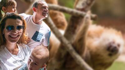 Alan Tacher disfrutó con su familia de un fin de semana salvaje (fotos)
