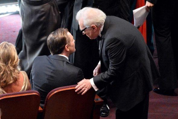 ¡Qué divina foto!, el señor Scorcese se tomó un minuto para charlar con...