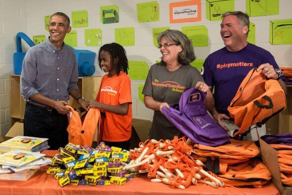 Esta institución de caridad brinda a decenas de niños una...