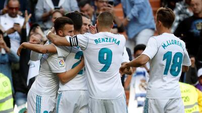 En fotos: sin Cristiano, pero con Bale y Benzema, el Madrid le ganó al Leganés por 2-1