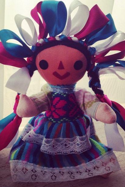 Aprovechando su visita a la Ciudad de México, Ana Patricia compró el pri...