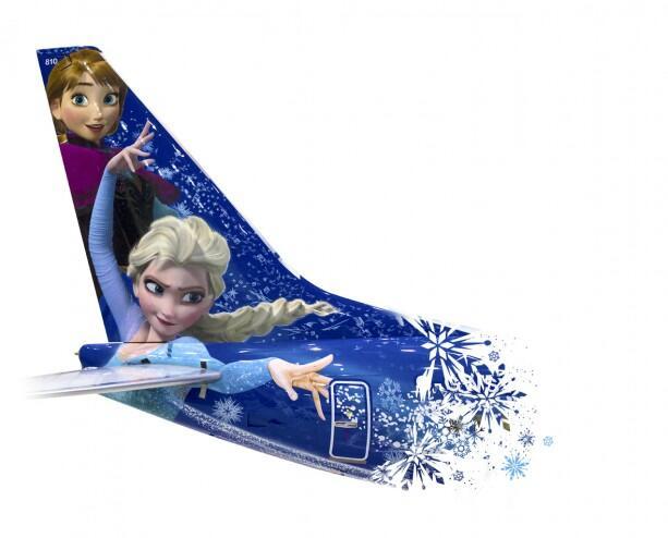 La magia de 'Frozen' ahora te acompañará en el aire