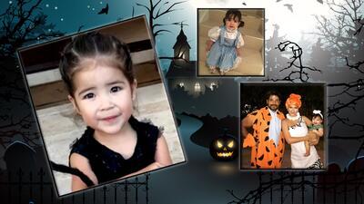 Ni Pebbles Picapiedra ni Dorothy: este fue el disfraz que Giulietta eligió para este Halloween