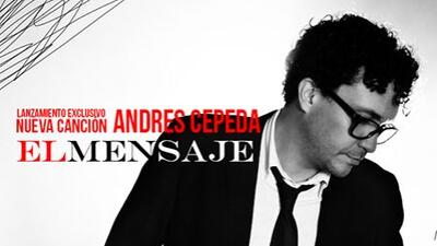 """El cantante colombiano Andres Cepeda nos comparte su nuevo éxito """"El men..."""