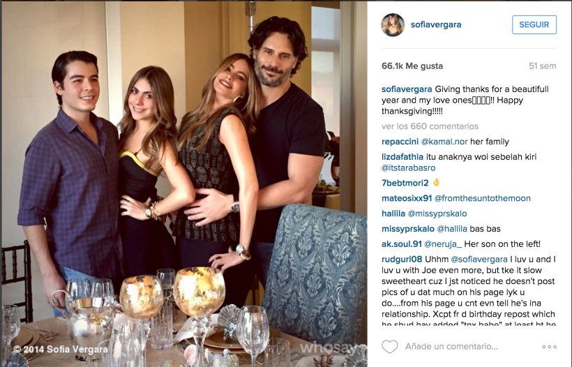 Sofia Vergara Thanksgiving