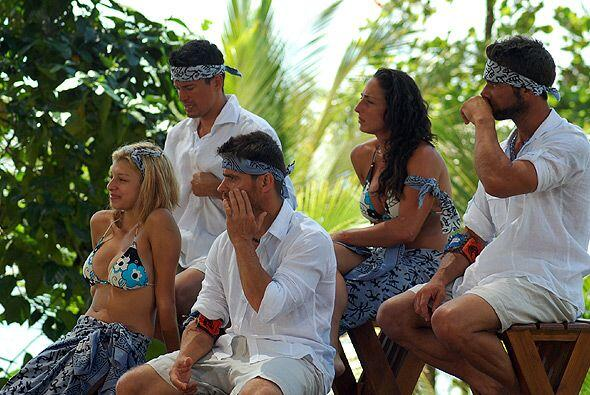 Los jueces de la semana fueron las Barracudas, quienes se veían felices.