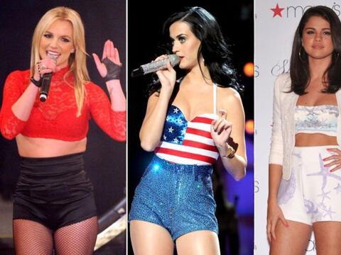 Las famosas adoran los 'hotpants' estilo vintage pues lucen sus curvas s...