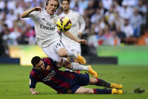 El Barcelona también recibía lo suyo.