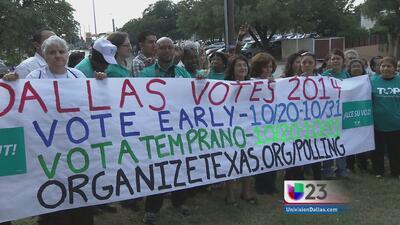 Inicia votación anticipada en Texas
