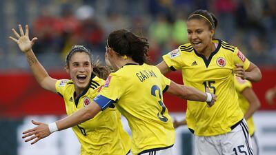 Las colombianas lograron su primer triunfo en el Mundial ante Francia