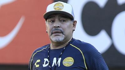 ¡Maradona, a trabajar! Los preocupantes números de Dorados en lo que va del Ascenso MX