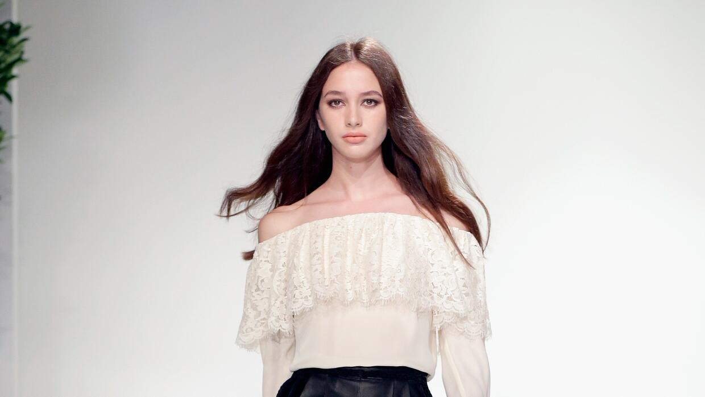 Karime Bribiesca, el nuevo rostro de la moda mexicano.